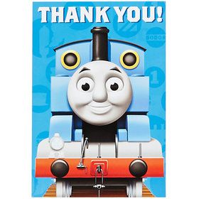 Thomas the Train Thank You Notes