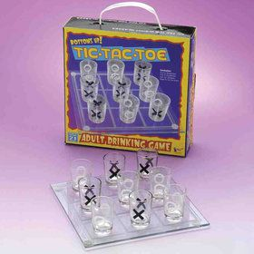 Tic Tac Toe Shots Drinking Game