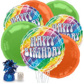 Tie Dye Balloon Bouquet Kit