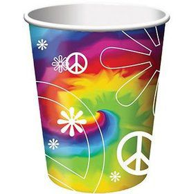 Tie Dye Party Cups (8-pack)