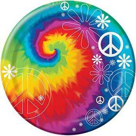 Tie Dye Party Dinner Plates (8-pack)