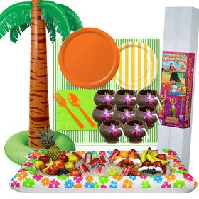 Tiki Luau Ultimate Experience Party Pack for 8