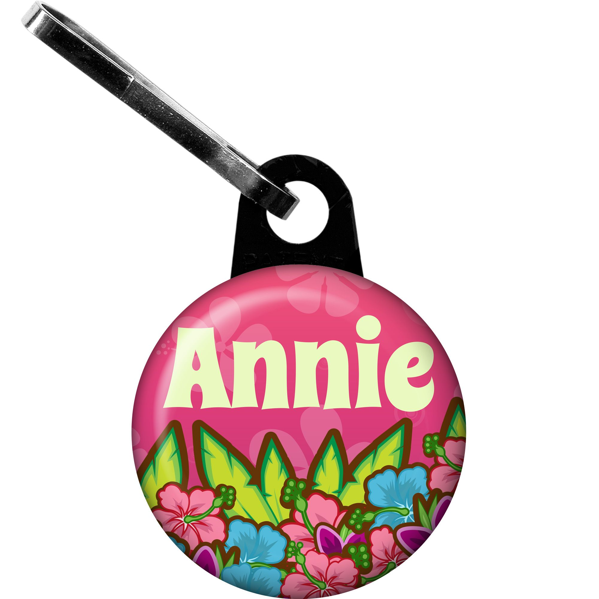 Tiki Party Personalized Mini Zipper Pull (Each) BB016155