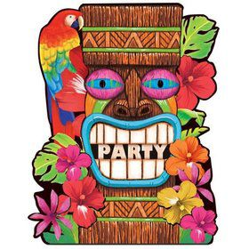 Tiki Summer Invitations (50 Pack)