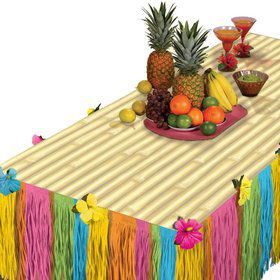 Tiki Transform-A-Table Decorating Kit (Each)