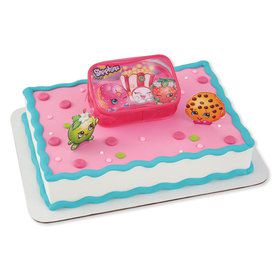 Time to Shopkins Cake Decoration Set