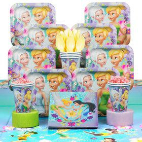 Tinkerbell Birthday Party Deluxe Tableware Kit Serves 8