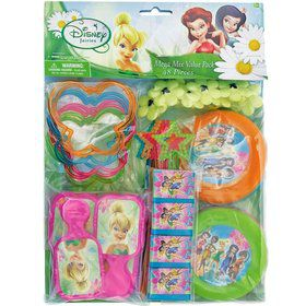Tinkerbell Mega Mix Favor Pack (For 8 Guests)