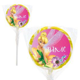 "Tinkerbell Personalized 2"" Lollipops (20 Pack)"