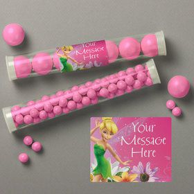 Tinkerbell Personalized Candy Tubes (12 Count)