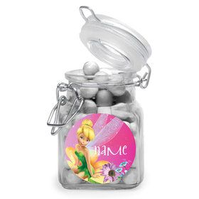 Tinkerbell Personalized Glass Apothecary Jars (10 Count)