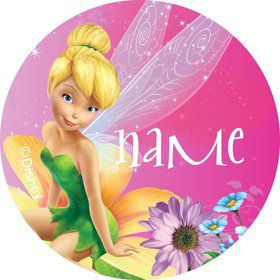 Tinkerbell Personalized Mini Stickers (Sheet of 24)