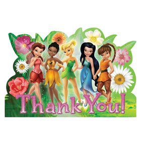 Tinkerbell Postcard Thank You Cards (8 Pack)