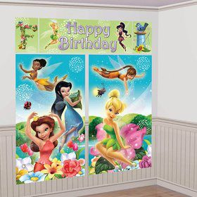 Tinkerbell Scene Setter Wall Decorating Kit (Each)
