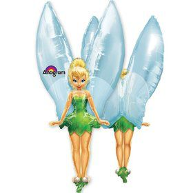 "Tinkerbell See-Thru 45"" Balloon (Each)"