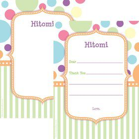 Tiny Bundle Neutral Personalized Thank You (Each)