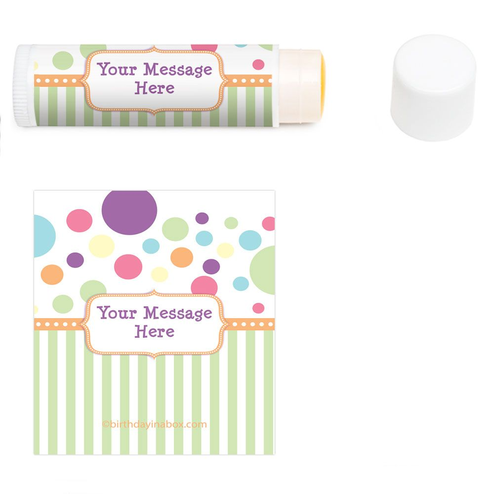 Tiny Bundle Personalized Lip Balm (12 Pack) BB1361LB