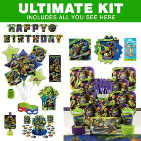 TMNT Birthday Party Ultimate Tableware Kit