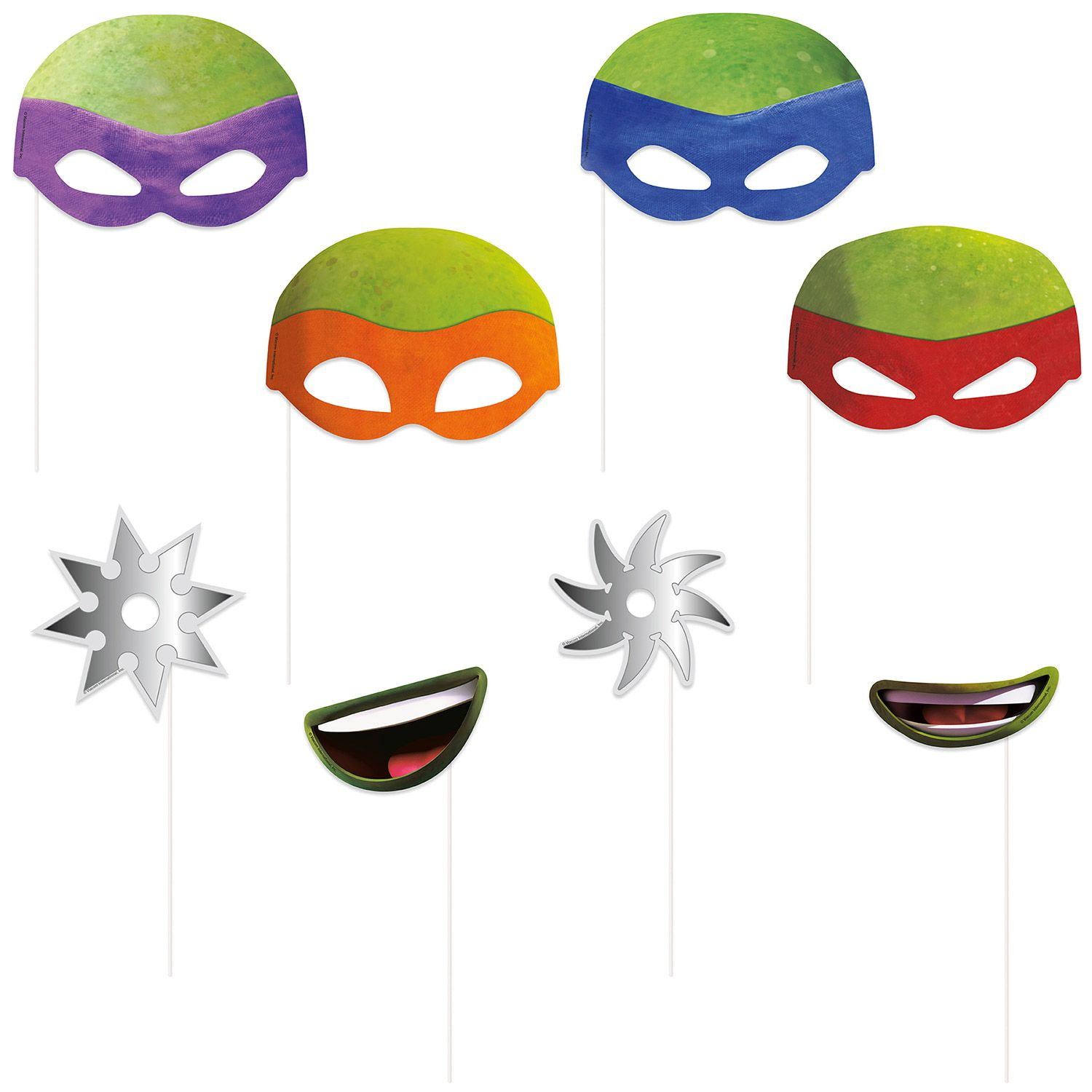 Tmnt Photo Booth Props BB66472