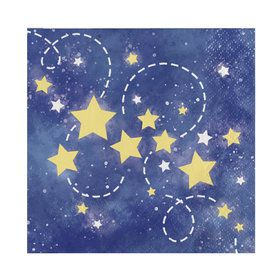 To the Moon Back Beverage Napkins (16)