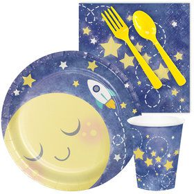 To The Moon Back Snack Party Pack