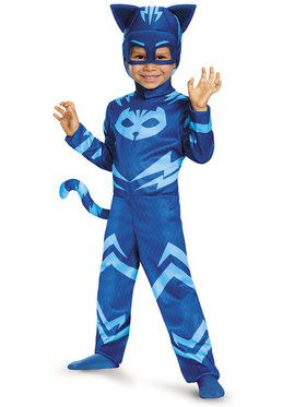 Toddlers PJ Masks Catboy Classic Costume