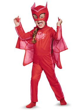 Toddlers PJ Masks Owlette Classic Costume