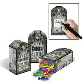 Tombstone Favor Boxes (3 Pack)