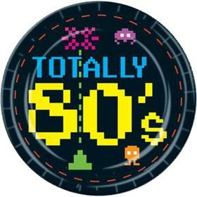Totally 80's Dessert Plates (8 Pack)