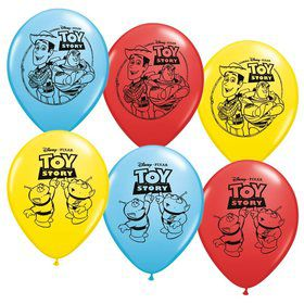 "Toy Story 12"" Latex Balloons (6 Pack)"