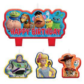 Toy Story 4 Birthday Candle Set (4)