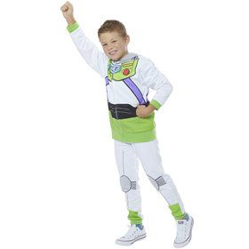 Toy Story 4 Child Buzz Lightyear Hoodie and Pants Costume