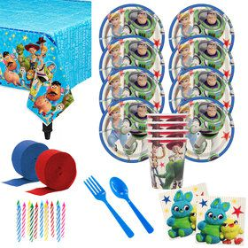 Toy Story 4 Deluxe Tableware Kit (Serves 8)