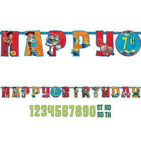 Toy Story Add-An-Age Letter Banner (Each)