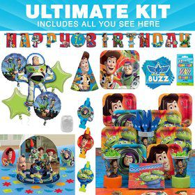 Toy Story Birthday Party Ultimate Tableware Kit Serves 8