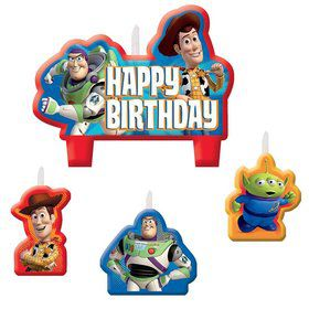 Toy Story Candle Set (4 Pack)