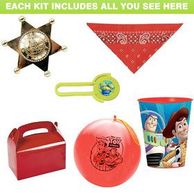 Toy Story Favor Kit (for 1 Guest)