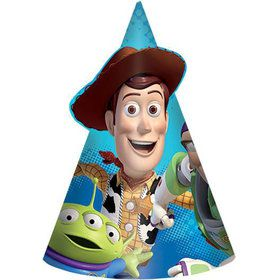 "Toy Story Paper 6"" Cone Hats (8 Pack)"