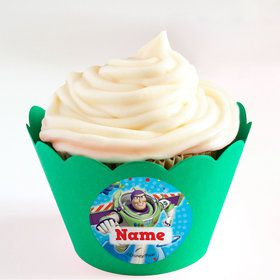 Toy Story Personalized Cupcake Wrappers (Set of 24)