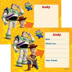 Toy Story Personalized Thank You Note (Each)