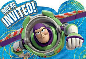 Toy Story Postcard Invitations (8 Pack)