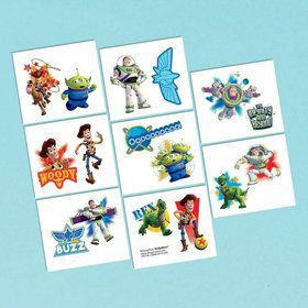 Toy Story Tattoo Favors (16 Pack)