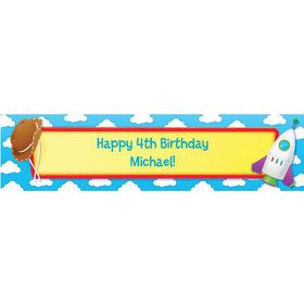Toy Tales Personalized Banner (each)
