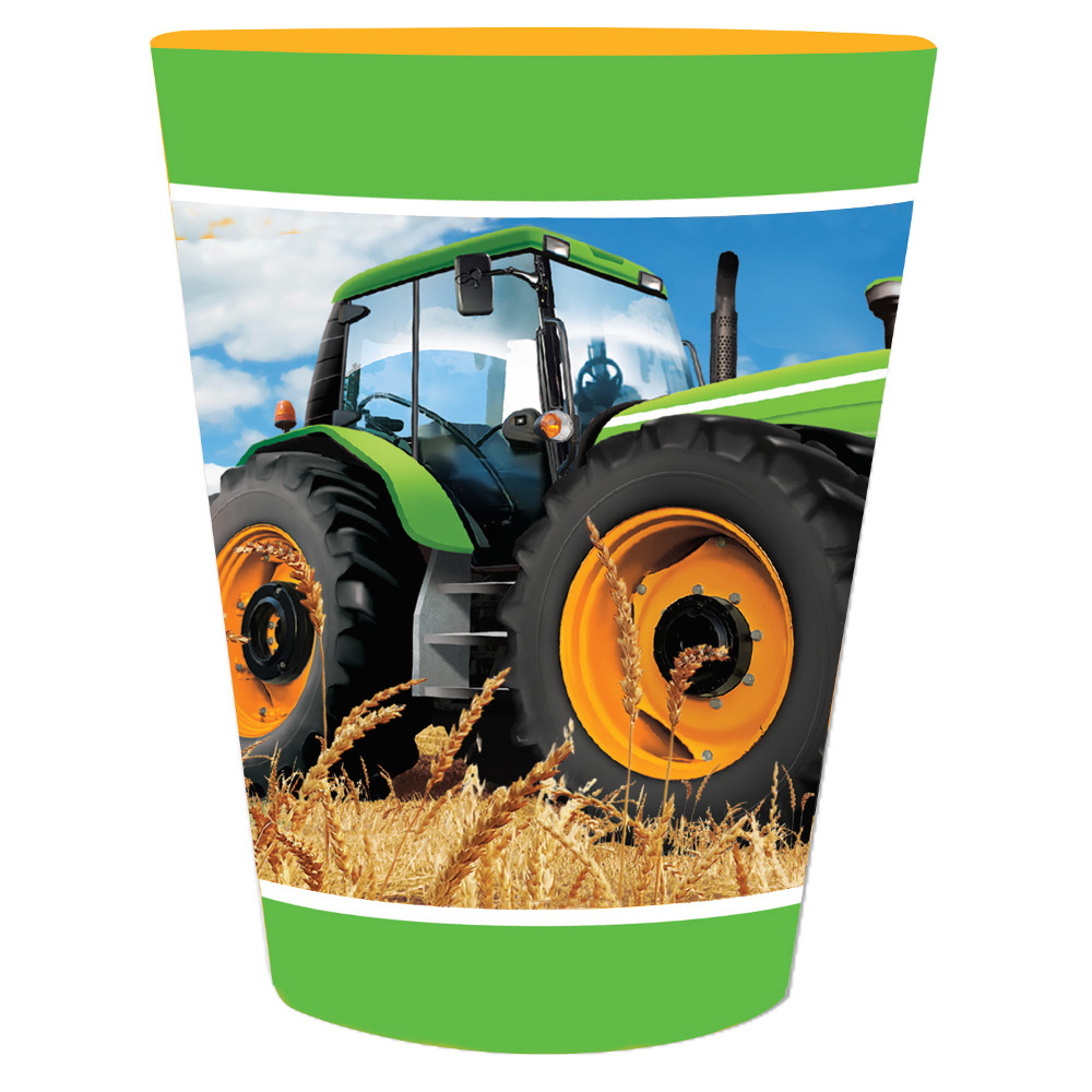 Tractor Time 16 Oz Plastic Favor Cup BB318063
