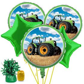 Tractor Time Balloon Bouquet Kit