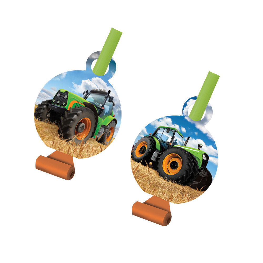 Tractor Time Blowouts (8 Count) - Party Supplies BB318061