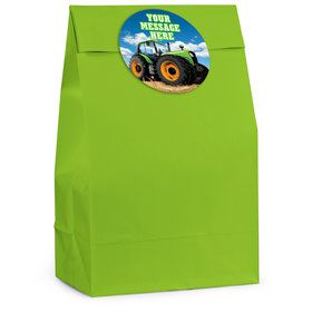 Tractor Time Personalized Favor Bag (12 Pack)