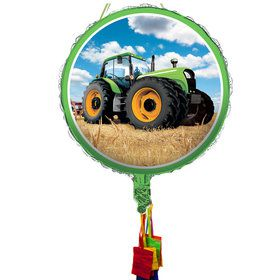 Tractor Time Pull String Pinata