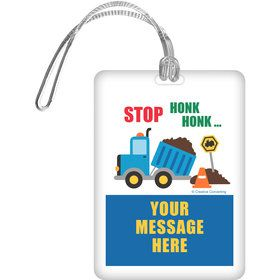 Traffic Jam Personalized Bag Tag (Each)