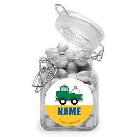 Traffic Jam Personalized Glass Apothecary Jars (12 Count)